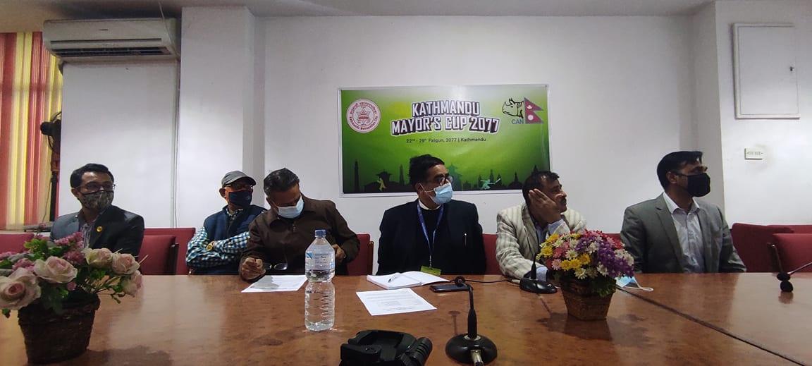 काठमाडाैं मेयर कप एकदिवसिय क्रिकेटकाे तयारी पुरा, खेलाडीले २ हजार म्याच फी पाउने