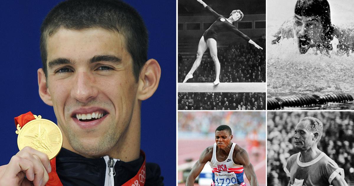 यी हुन् ओलम्पिक इतिहासमा सर्वाधिक मेडल जित्ने ओलम्पियनहरु !