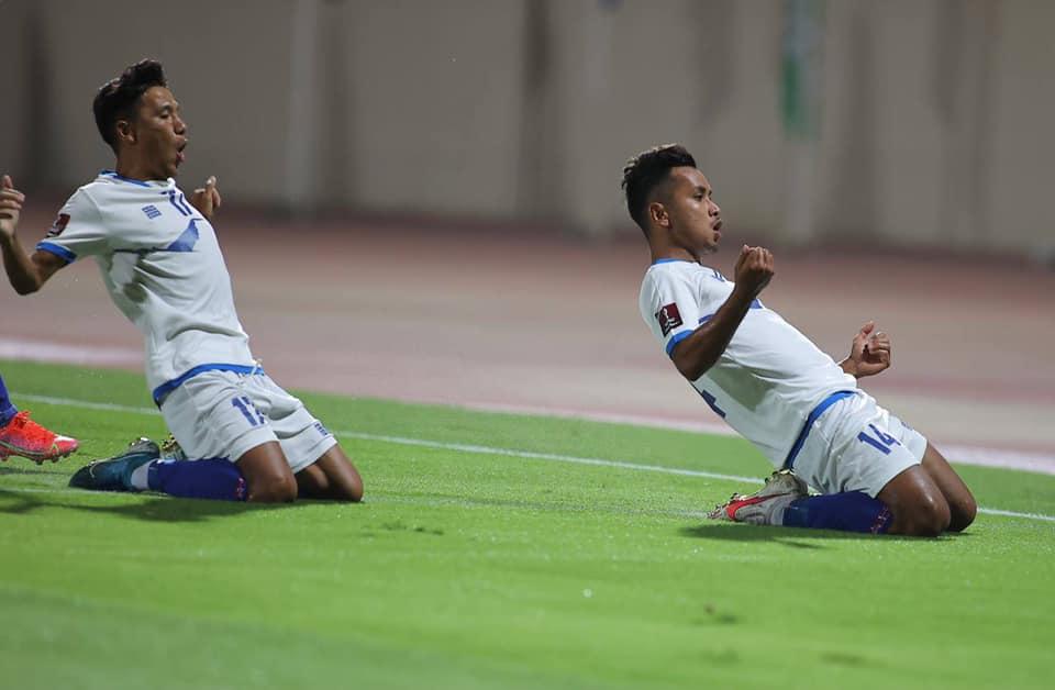 डेब्यु खेलमा नै मनिशले गाेल गरेपछि नेपाल इराकविरुद्ध २-१ ले अगाडी