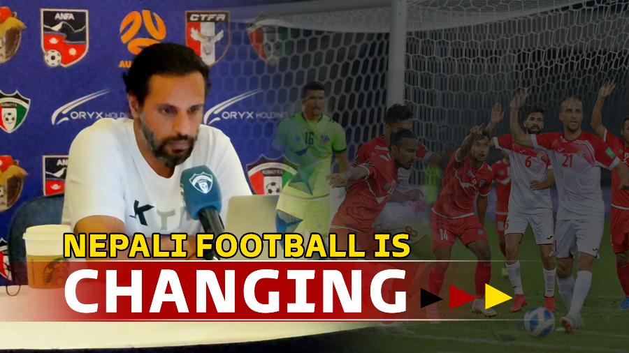 नेपाली फुटबल बिस्तारै परिवर्तन हुँदैछ-अब्दुल्लाह अल्मुताइरी