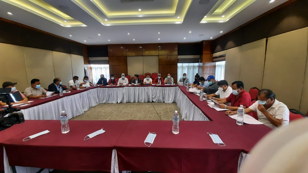 Men's National team friendly match to kick off prior to the SAFF Championship