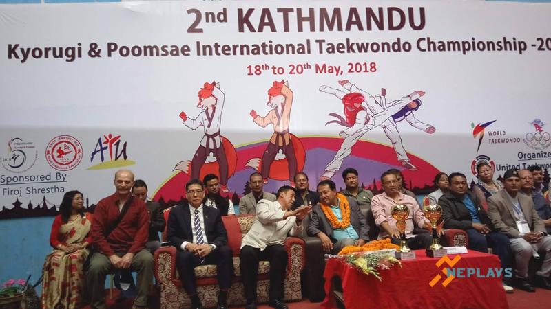 काठमाडौं ओपन तेक्वान्दोमा नेपाल टिम च्याम्पियन
