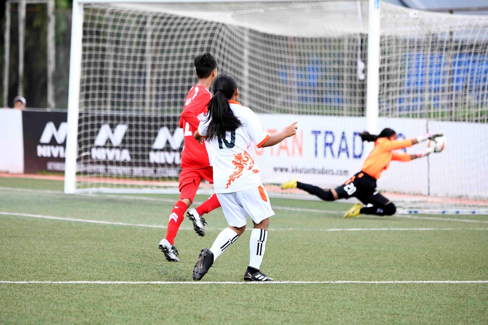 Nadezhda Cup Women Football: Nepal defeated to Uzbekistan