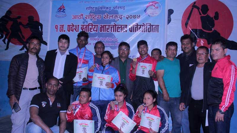 आठौँ राष्ट्रिय खेलकूद प्रतियोगिताकाे तयारी तीव्र, खेल स्थलकाे लाग्याे टुंगाे