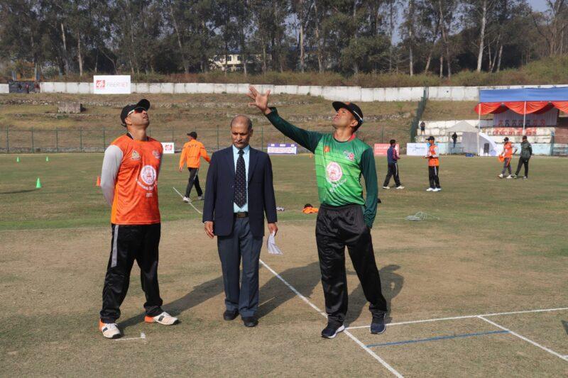 मेयर कप क्रिकेट प्रतियोगिता शुरु, आर्मीविरुद्ध एपीएफ बलिङमा