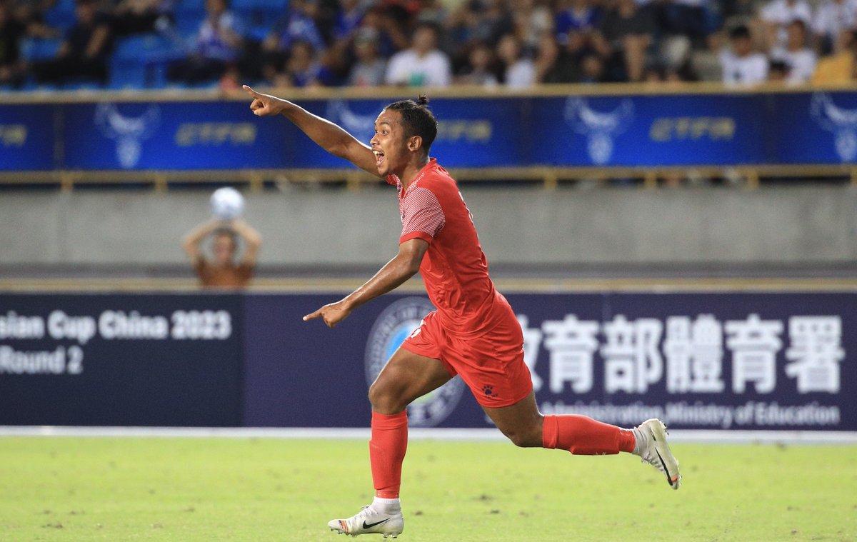 चाइनिज ताइपेईविरुद्ध पहिलो हाफमा नेपाल १–० ले अगाडि