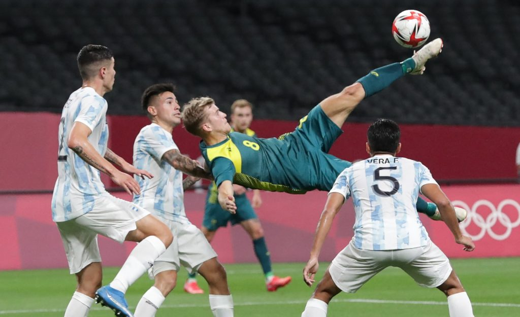 ओलम्पिक फुटबलः ब्राजिलको फराकिलो जित, अर्जेन्टिना अष्ट्रेलियासँग स्तब्ध