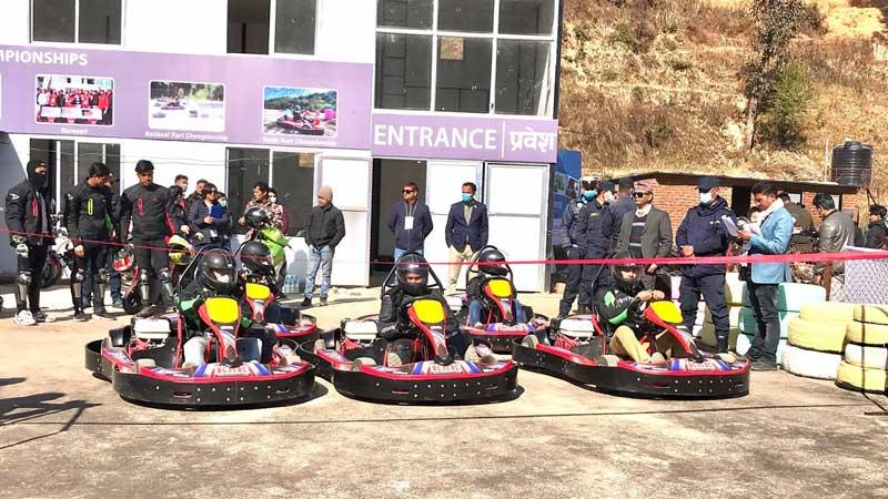 धुलिखेलमा खुल्यो नेपालकै पहिलो मोटोस्पोर्टस रेस सर्किट