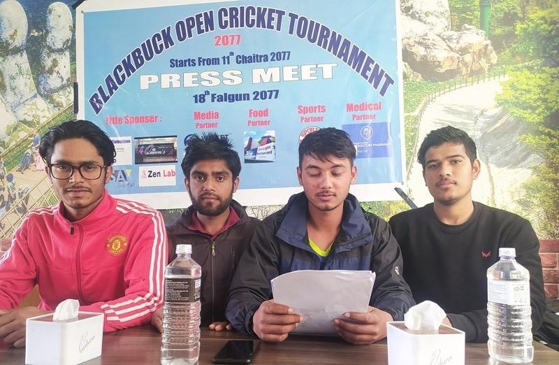 'ब्ल्याक बक खुला क्लब क्रिकेट प्रतियोगिता' चैतमा