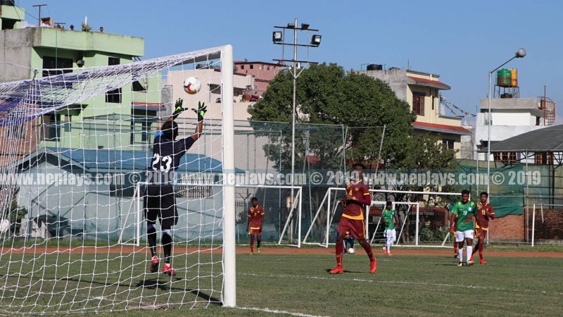यू-१८ साफ फुटबल: बंगलादेशले श्रीलंकालाई तीन शुन्यले हरायो