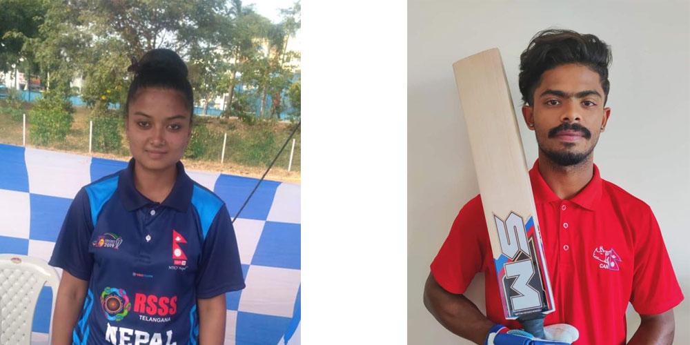 क्रिकेटरद्वय यादव र बेगम एसएमको ब्राण्ड एम्बासडर