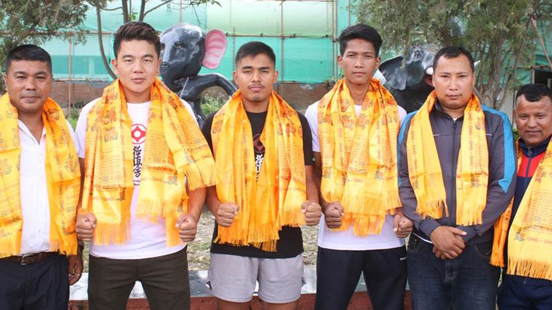 क्योकुसिन टोली फिलिपिन्स प्रस्थान
