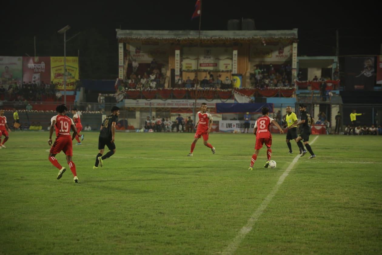 एपीएफ विराट गोल्डकपको सेमिफाइनलमा