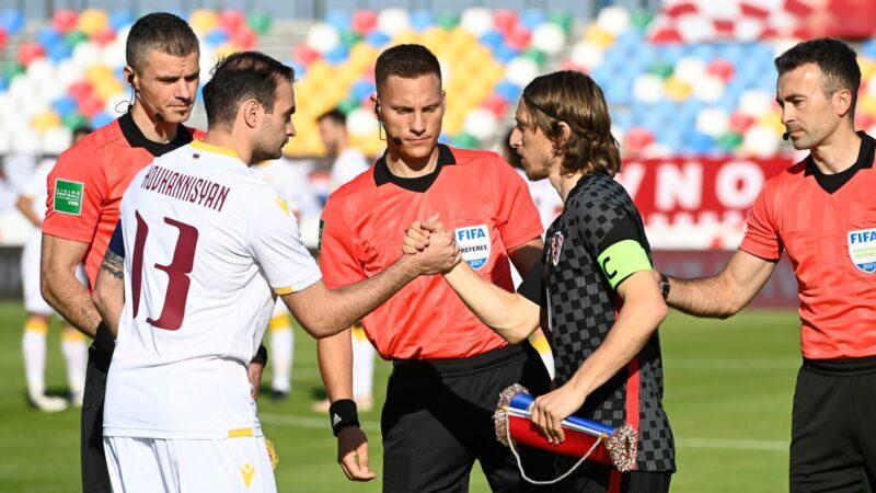 विश्वकपको उप विजेता क्रोएशिया बराबरीमा रोकियो