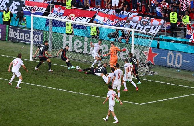 स्पेन भर्सेस क्रोएशियाको खेल अतिरिक्त समयमा