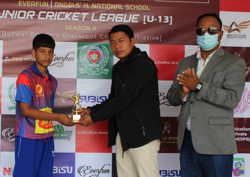 जीएचसीए 'बी' यु–१३ छात्र जुनियर क्रिकेट लिग– २ काे सेमिफाइनलमा