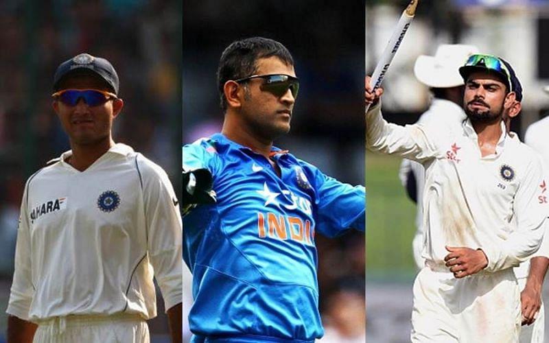 गांगुली, धोनी र कोहली मध्य काे हुन त उत्कृष्ट भारतीय कप्तान ?