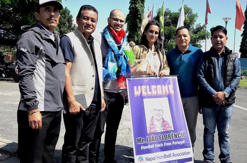 राष्ट्रिय ह्याण्डबल टोलीमा विदेशी प्रशिक्षककाे आगमन