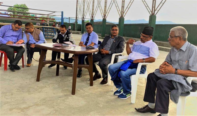 साग तयारी संगै ह्याण्डबल खेल मैदान स्त्तोरोन्नतीका लागि समिती गठन