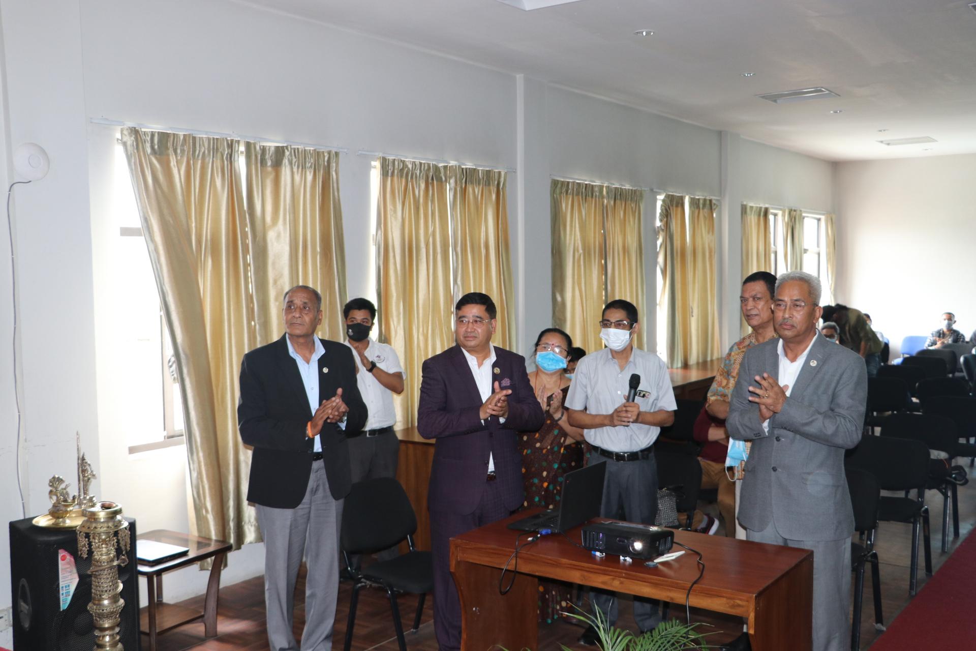 १५ हजार डलरमा नेपाल ओलम्पिक संग्राहलयकाे बेवसाइट सुरू