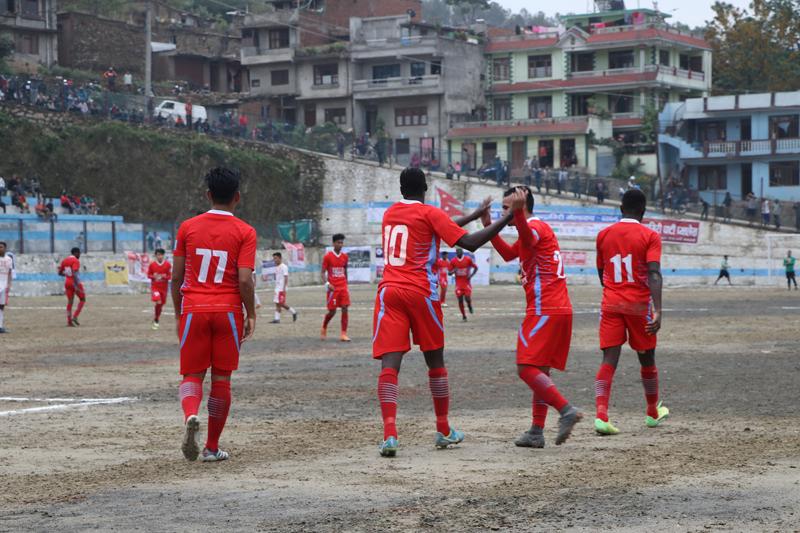 Dashrath Stadium's alternate is Chyasal ground