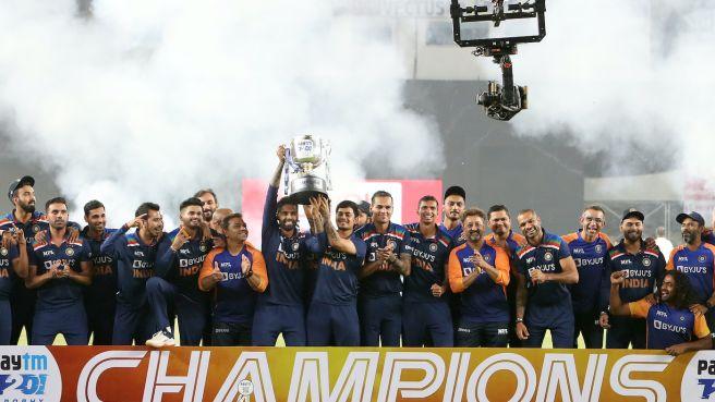 भारतले जित्यो टी २० सिरिज
