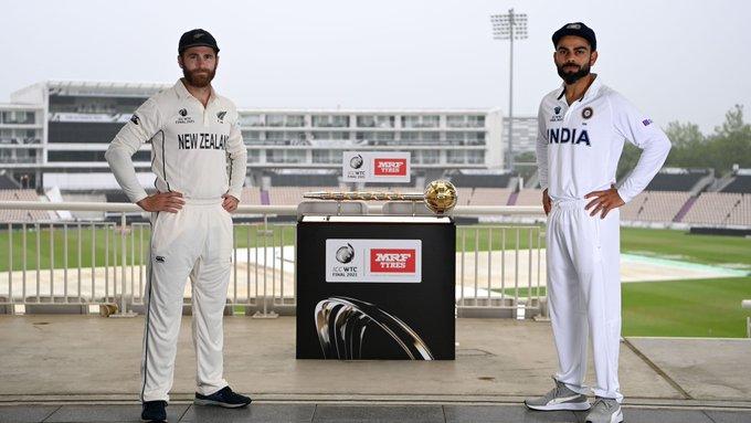 विश्व टेस्ट च्याम्पियनिसप फाइनल : बर्षा बाधक बन्दै