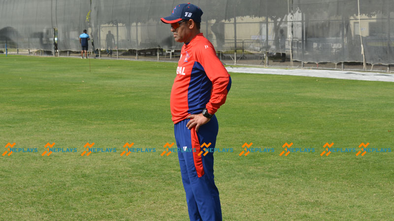 Nepal Coach Tamata is supporting India in CWC 2019