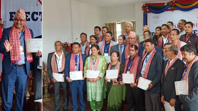 Shrestha elected NOC president