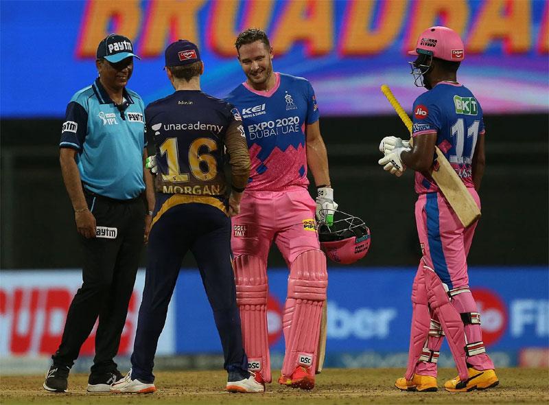 क्रिस मोरिसले ४ विकेट लिएको खेलमा राजस्थान विजयी