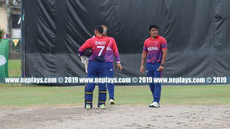 Nepal defeated by Qatar in ICC T20 Asia Qualifier