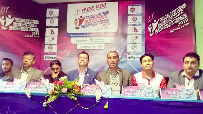काठमाडौं ब्याडमिन्टन च्याम्पियनसिपलाई प्याब्सनको साथ