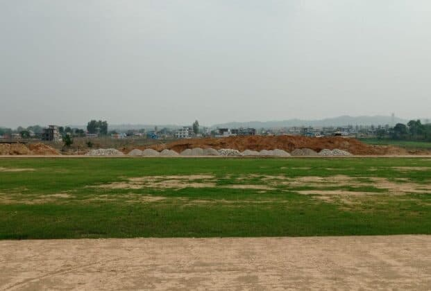 हेटौंडाको क्याम्पा खेल मैदान व्यवस्थित गरिँदै