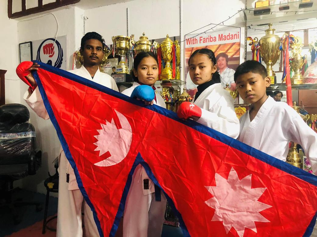 नेपालको मानसिंह डोजोले जित्याे चार स्वर्ण पदक