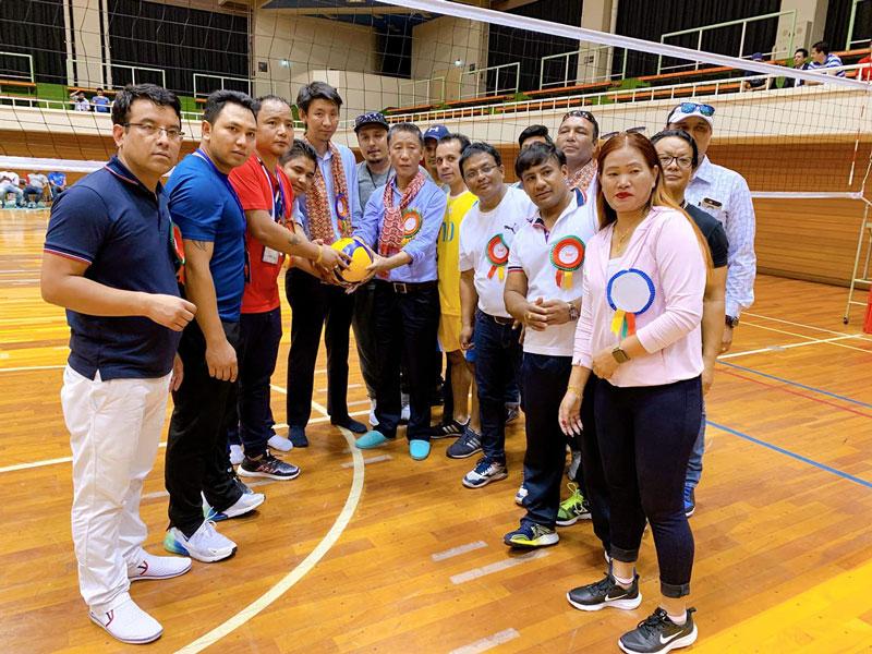 नेपाल भलिबल संघ जापान शाखाले क्लब च्याम्पियनसिपको पुरुष तर्फको २ लाख पुरस्कार प्रायोजन गर्ने