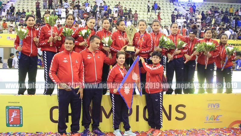 नेपाली महिला भलिबल टिमले अगस्टमा एशियन च्याम्पियनसिप खेल्ने
