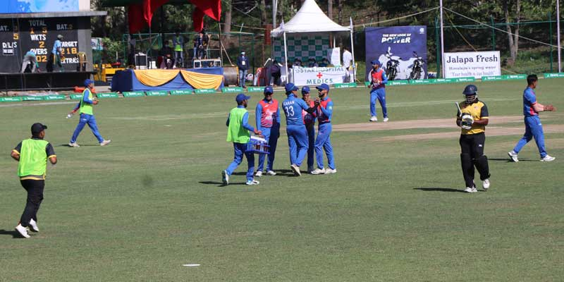 सन्दीप, कमल र सोमपाल चम्कदा मलेसियाविरुद्ध नेपाल ६९ रनले विजयी