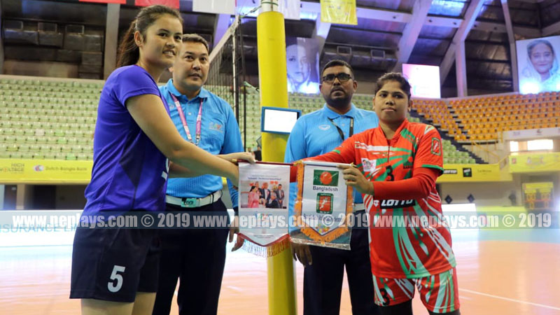 नेपाल एक खेल अगावै एभिसी सेन्ट्रल जोन महिला भलिबलको फाइनलमा