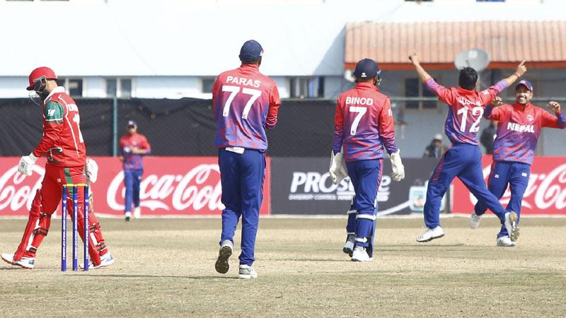 नेपालले पहिलाे ओडीआई खेलेकाे २ बर्ष पुरा, सिरीज बराबरीपछिकाे भिडियाे