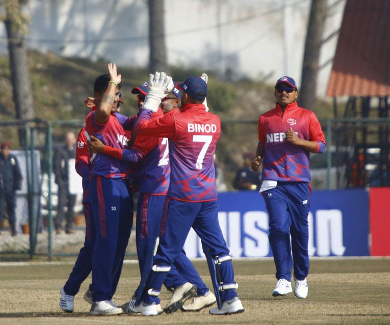क्रिकेट खेलाडीकाे पीसीआर परीक्षण आज