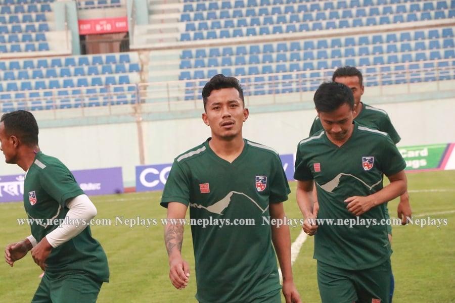 नेपाली फुटबल टिम कुवेतबाट आइतबार काठमाडौं आइपुग्ने