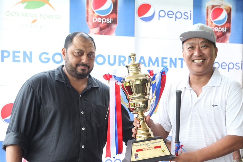 Ola Wins Pepsi Open Golf Tournament