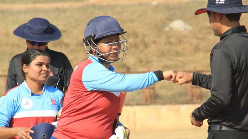 मेयर कप महिला क्रिकेटका लागि लुम्बिनी टिमकाे घाेषणा