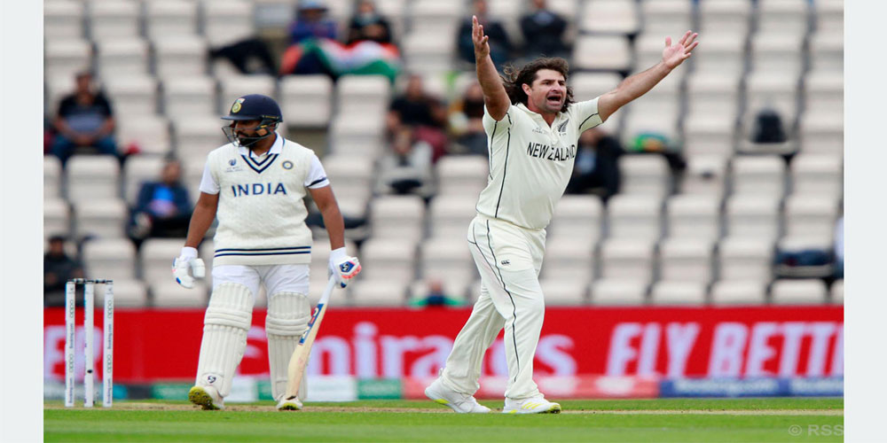 टेस्ट च्याम्पियनसिप : साउथह्याम्पटनमा भारतीय ब्याट्सम्यान फ्लप