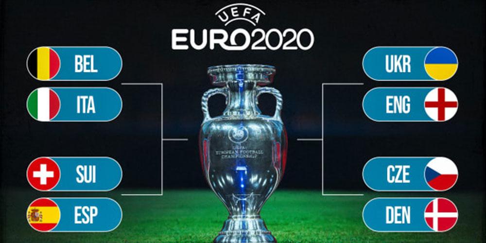 युरो २०२० को सेमिफाइनलमा पुग्ने समिकरण यस्तो बन्याे