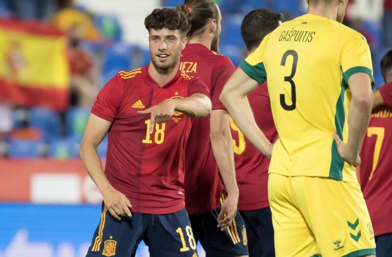 लिथुवानियाविरुद्धको मैत्रीपूर्ण खेलमा स्पेनको यस्तो कीर्तिमान