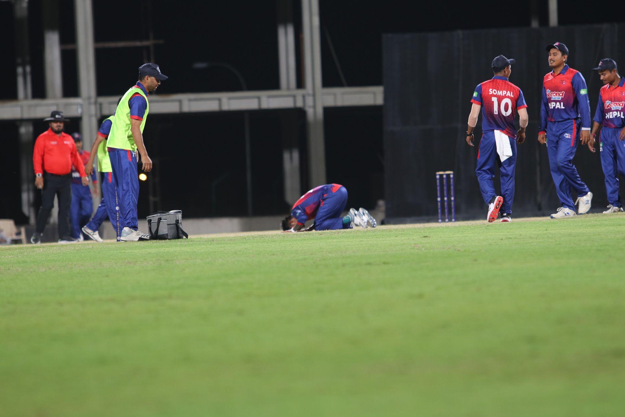 सन्दिप लामिछाने 'द हन्ड्रेड' क्रिकेट खेल्न आज राती बेलायत जाँदै