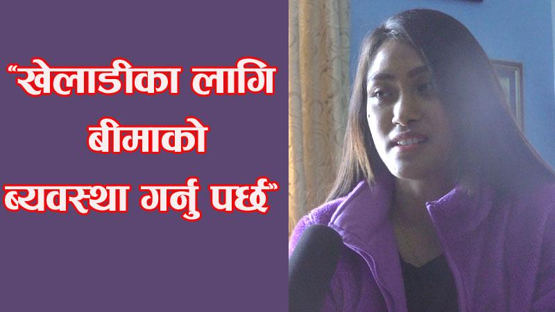 'चाँडैं भलिबलमा फर्कने प्रयासमा छु' : सरस्वती चौधरी