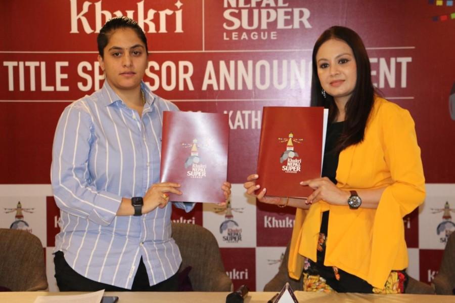 नेपाल सुपर लिगकाे मुख्य प्रायाेजक 'खुकुरी'