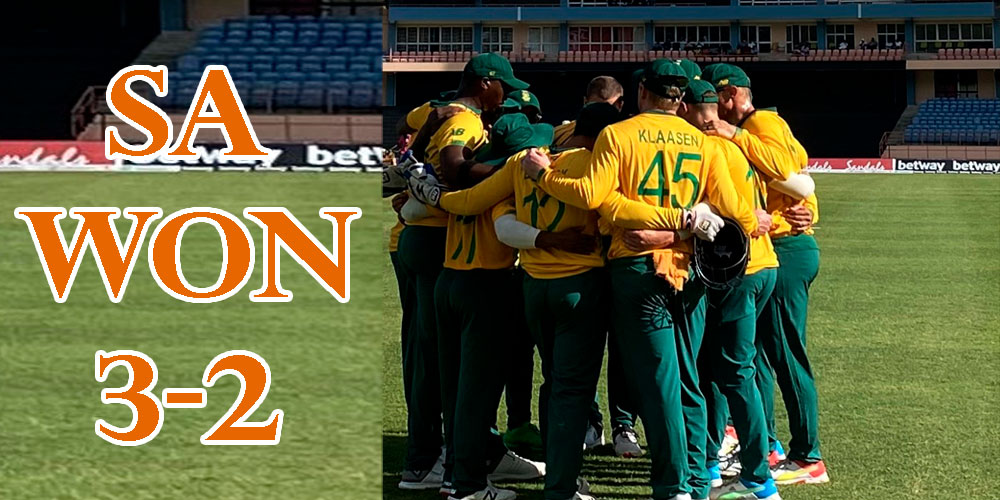 दक्षिण अफ्रिकाले जित्यो टी २० सिरिज